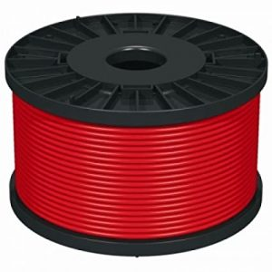 1.5 MIL FIRE CABLE RED 100M
