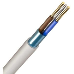 1.5 MIL FIRE CABLE WHITE