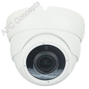 DOME CAMERA 12MM VARIFOCAL White CAMD985W