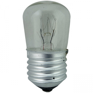 25W PYGMY LAMP ES CLEAR, P2E