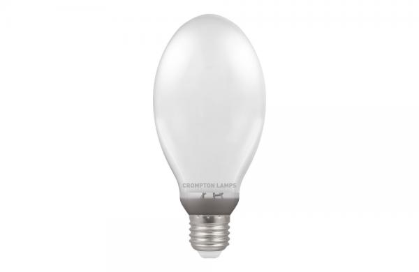 70W SON Lamp Elliptical High Output HPS (SON HO) 2000K ES-E27, Crompton SONHO70I