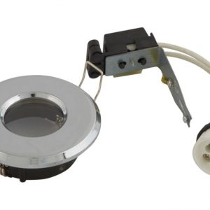 GU10 SHOWER DOWNLIGHT IP65 - CHROME LF19