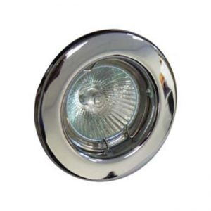 GU10 DOWNLIGHT FIXED Polished CHROME, Red Arrow RGFC