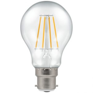 7.5W LED GLS Filament Dimmable Lamp BC (B22) Warm White 2700K, Crompton 4207
