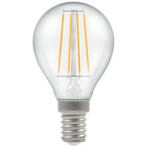 4W LED Round Filament Lamp SES 2700K Warm White, Crompton 4474