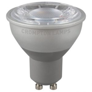 7W LED GU10 High Output Lamp Cool White 4000K, Crompton 5662