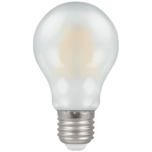 7.5W LED GLS Filament Dimmable Lamp ES (E27) WW 2700K Pearl