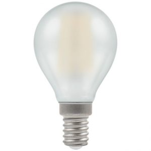4W LED FILAMENT Round Lamp SES OPAL