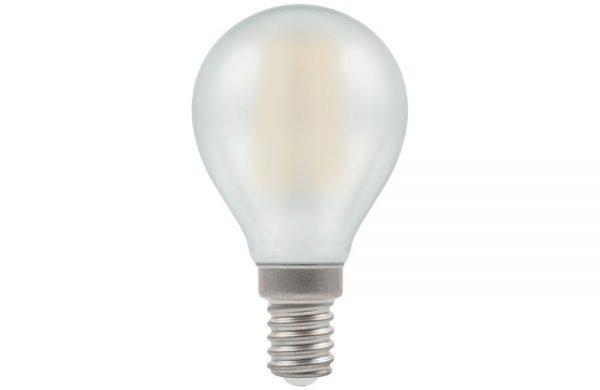 4W LED FILAMENT Round Lamp SES OPAL
