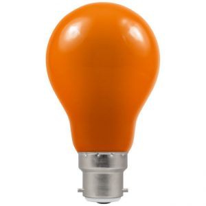 40W GLS AMBER LAMP BC (B22)