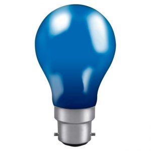 40W GLS BC LAMP BLUE