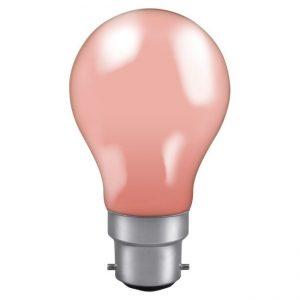 40W GLS BC LAMP PINK