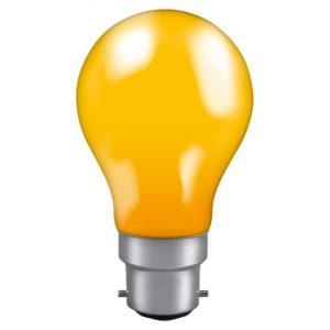 40W GLS BC LAMPC AMBER