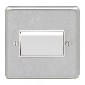 Pole Fan Isolator Switch Triple White, Eurolite SSSFSWW