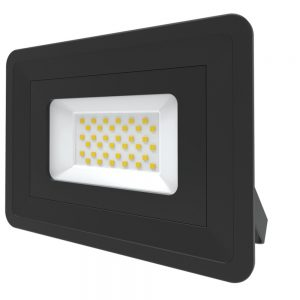 30W LED Floodlight Cool White, Outdoor Wall Light 401327