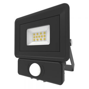 Security Light 10W LED Floodlight With PIR Sensor