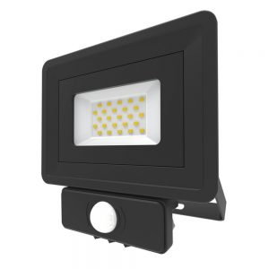 LED Security Floodlight PIR Sensor 20W Cool White