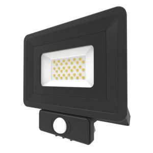 LED Security Floodlight PIR 30W Cool White 401335-BL