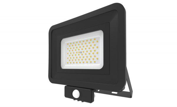 70W LED Floodlight PIR Sensor Cool White 401337-BL