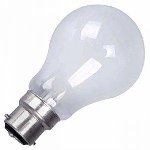 60W GLS BC (B22) LAMP PEARL