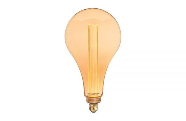 2.5W Antique Decorative ES Lamp Sylvania TOLEDO Mirage A165