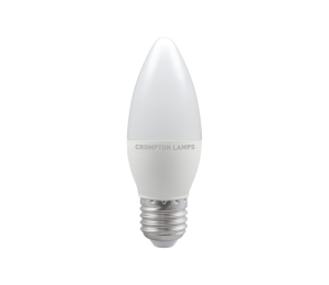 5.5W LED Candle Lamp ES Warm White, Crompton 11311