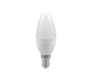 5.5W LED Candle Lamp SES Warm White, Crompton 11328