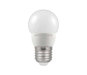 5.5W LED Round Golf Dimmable Lamp ES Warm White, Crompton 11618 (9325)