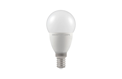 5.5W LED Round Golf Dimmable Lamp SES Warm White, Crompton 11625 (9332)