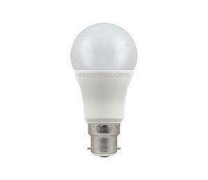 8.5W LED GLS Lamp BC Warm White, Crompton 11717