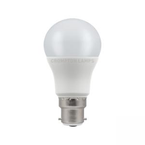 5.5W LED GLS Lamp BC Warm White, Crompton 11694