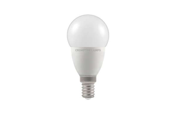 5.5W LED Golf Lamp Dimmable Daylight 6000k Crompton,11687