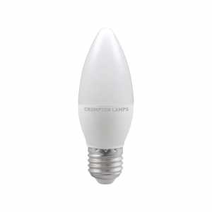 5.5W LED Candle Dimmable Lamp ES Daylight 6500K, Crompton 11472 (9288)
