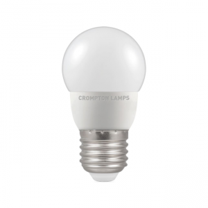 5.5W LED Round Golf Dimmable Lamp ES Daylight 6000k, Crompton 11670 (9387)