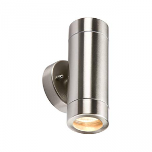 Double Side Up Down Wall Light GU10 Stainless Steel WALL2L