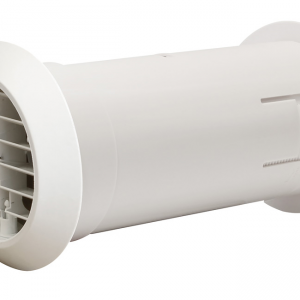 "Quick Fit Grille Fan 4"" White Manrose - DHRIWKW"
