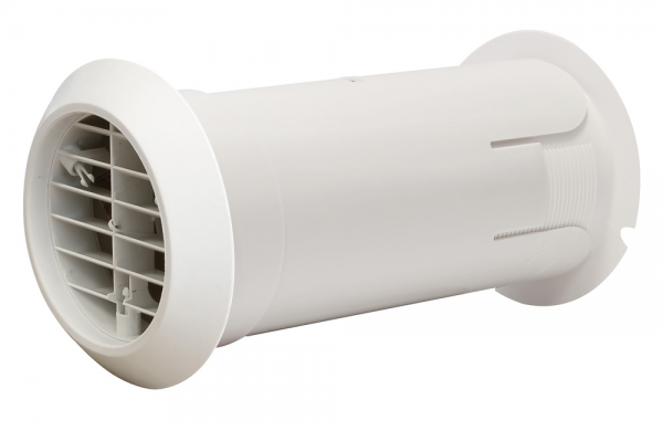 """Quick Fit Grille Fan 4"""" White Manrose - DHRIWKW"""