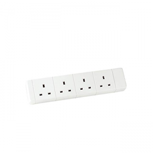 4 GANG EXTENSION SOCKET