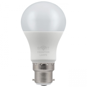 8.5W LED GLS SMART LAMP BC RGBW, Crompton 12325
