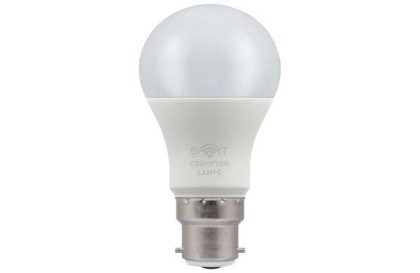 8.5W LED GLS SMART LAMP BC RGBW, Crompton 12325