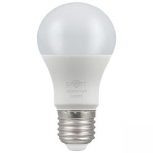 8.5W LED GLS SMART LAMP ES RGBW, Crompton 12332