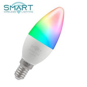 5W LED CANDLE SMART LAMPS SES RGBW, Crompton 12370