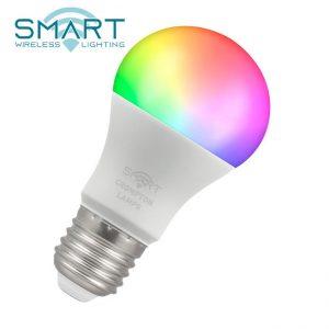 8.5W LED GLS SMART LAMP CW & RGB Colours ES, Crompton 12332