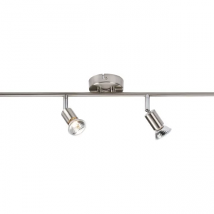 SPOTLIGHTS BAR WITH 4 GU10 LAMPS, Knightsbridge NSPGU4BC