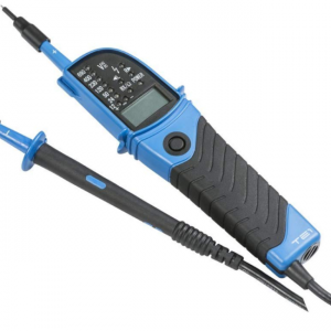 Voltage Tester with LED and LCD Display TE1